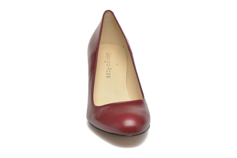 Escarpins Georgia Rose Selina Bordeaux vue portées chaussures