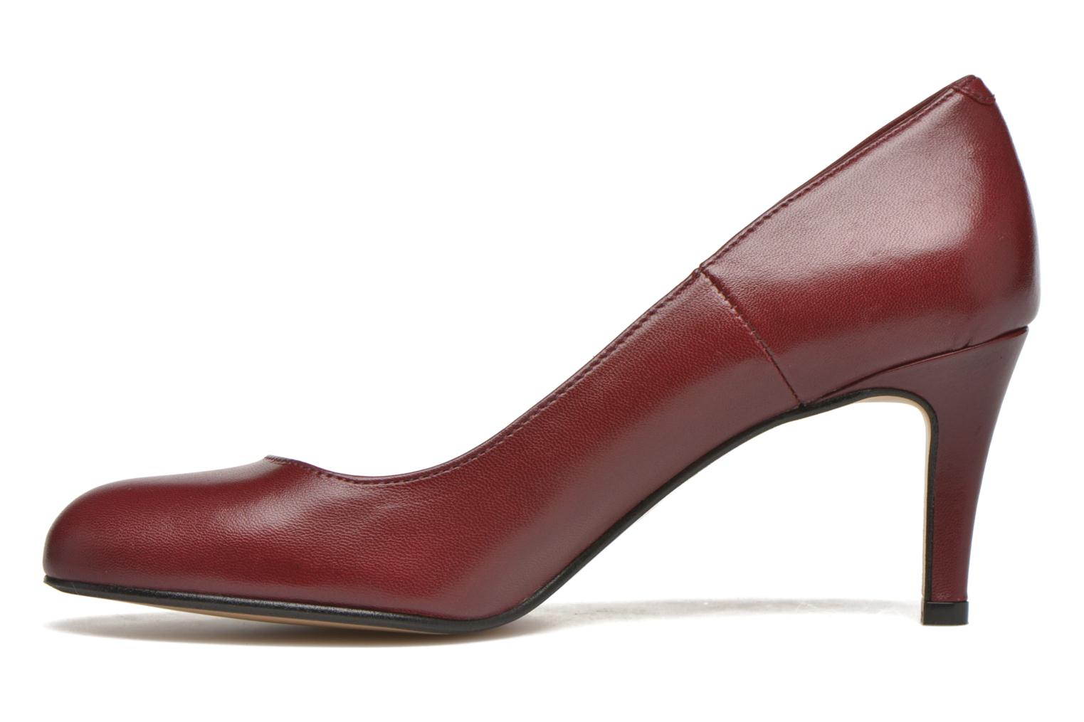High heels Georgia Rose Selina Burgundy front view