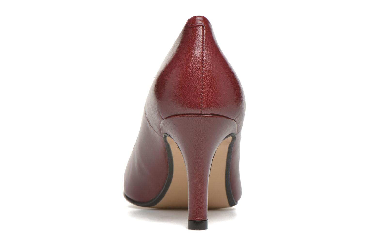 High heels Georgia Rose Selina Burgundy view from the right