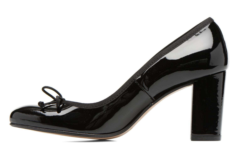 High heels Georgia Rose Sabib Black front view