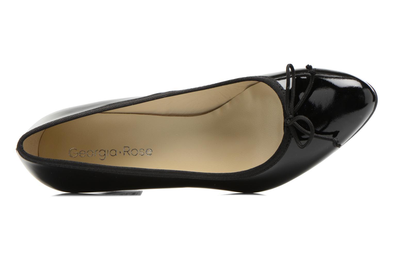 Zapatos de tacón Georgia Rose Sabib Negro vista lateral izquierda