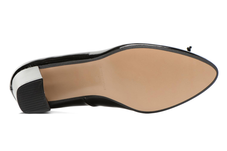 Zapatos de tacón Georgia Rose Sabib Negro vista de arriba