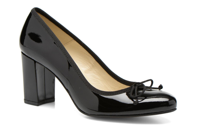 High heels Georgia Rose Sabib Black detailed view/ Pair view
