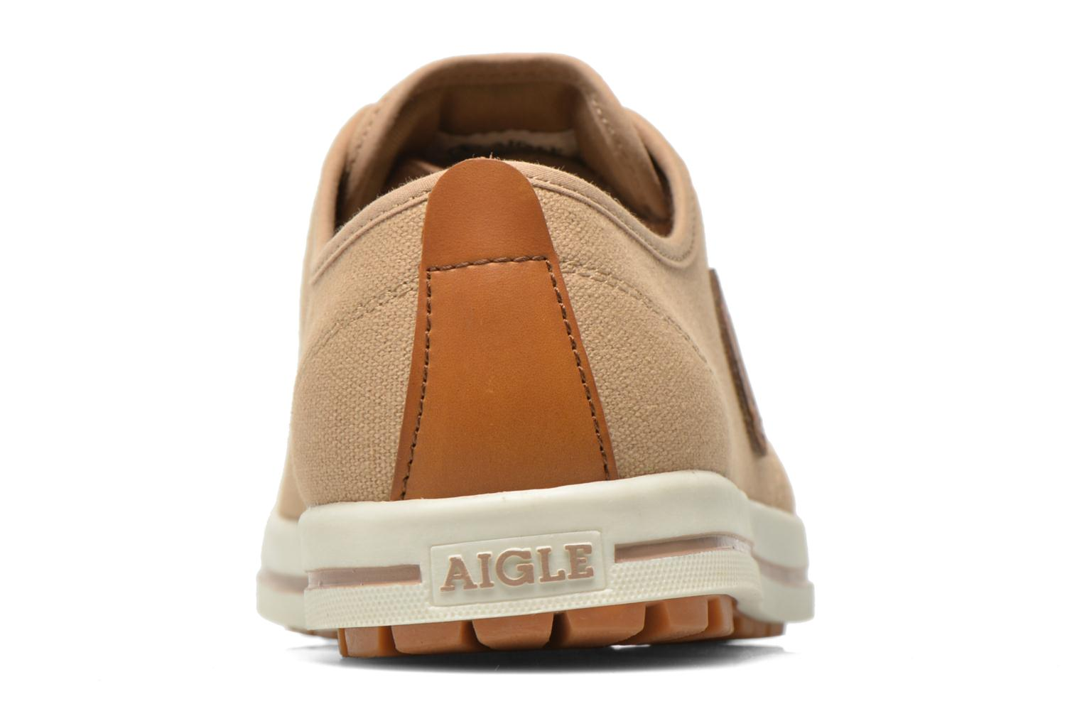 Trainers Aigle Kitangiri Beige view from the right