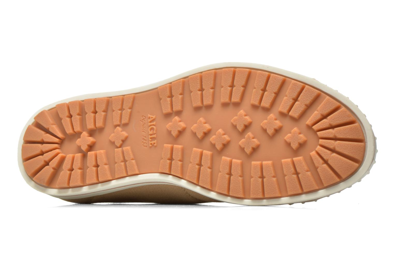Sneaker Aigle Kitangiri beige ansicht von oben