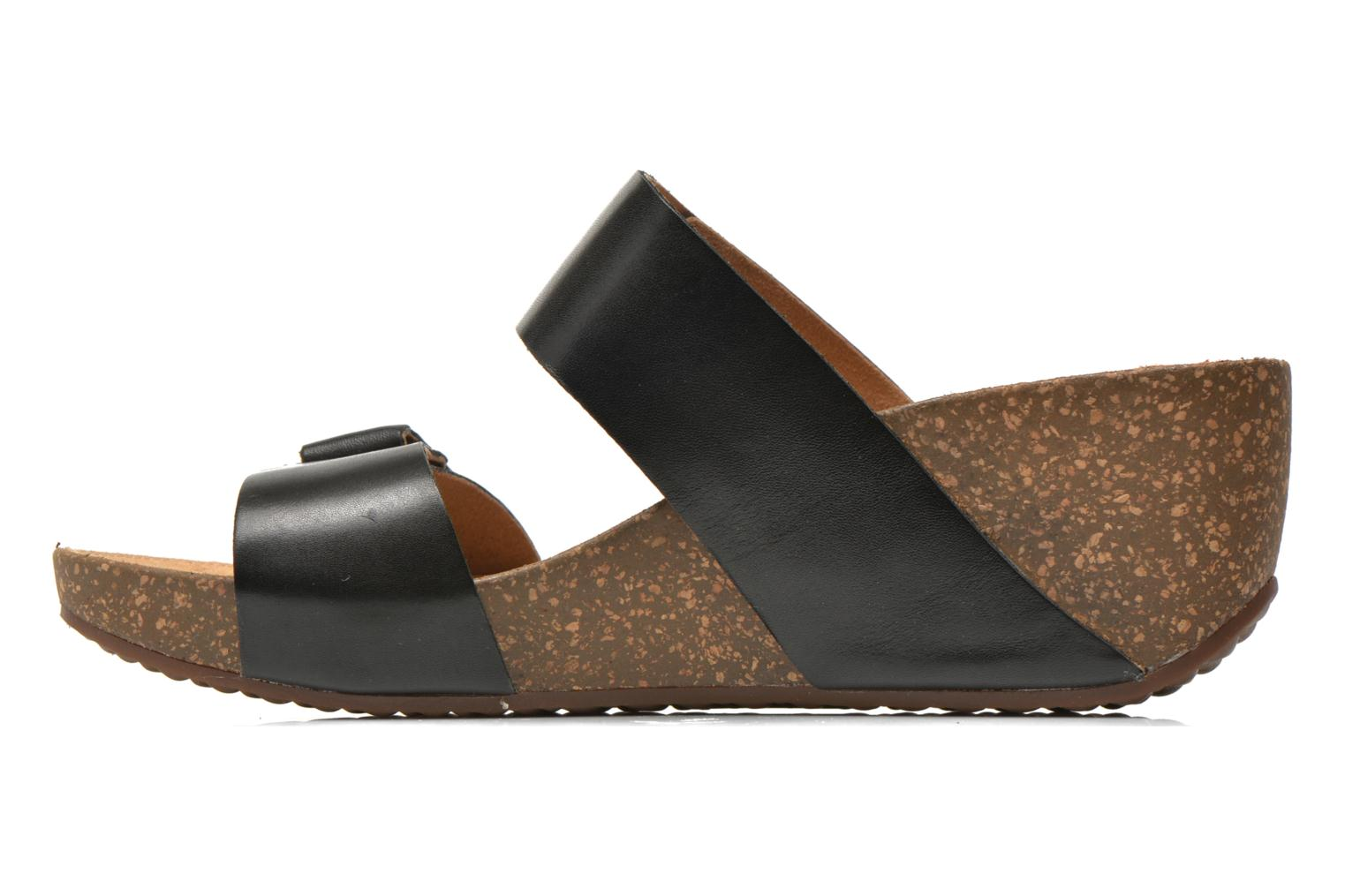 Mules & clogs Clarks Temira East Black front view