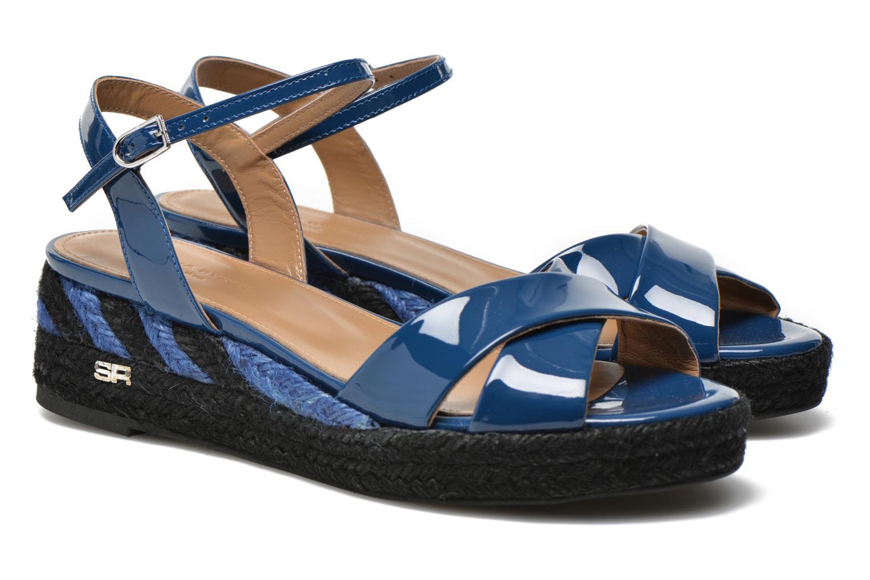 Sandals Sonia Rykiel Podium 2 Blue 3/4 view