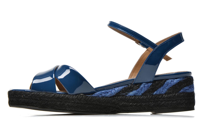 Sandalen Sonia Rykiel Podium 2 blau ansicht von vorne
