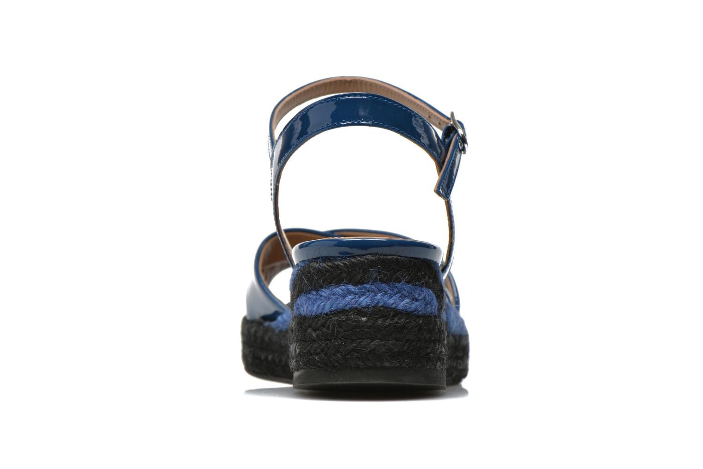 Sandalen Sonia Rykiel Podium 2 blau ansicht von rechts
