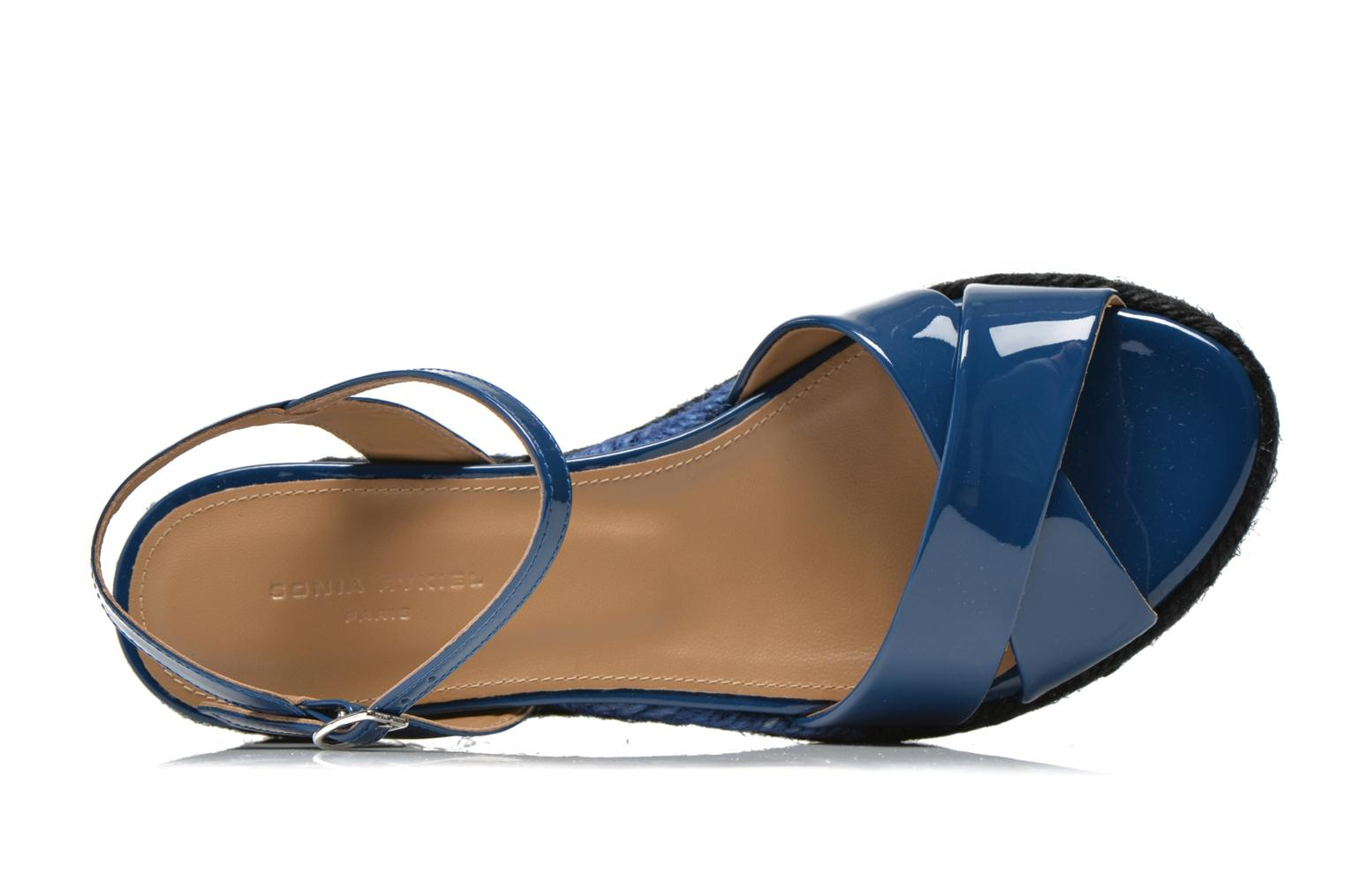 Sandals Sonia Rykiel Podium 2 Blue view from the left