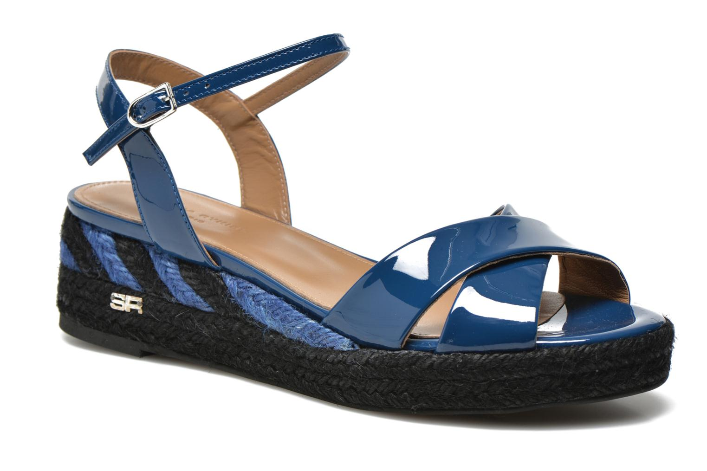 Sandals Sonia Rykiel Podium 2 Blue detailed view/ Pair view