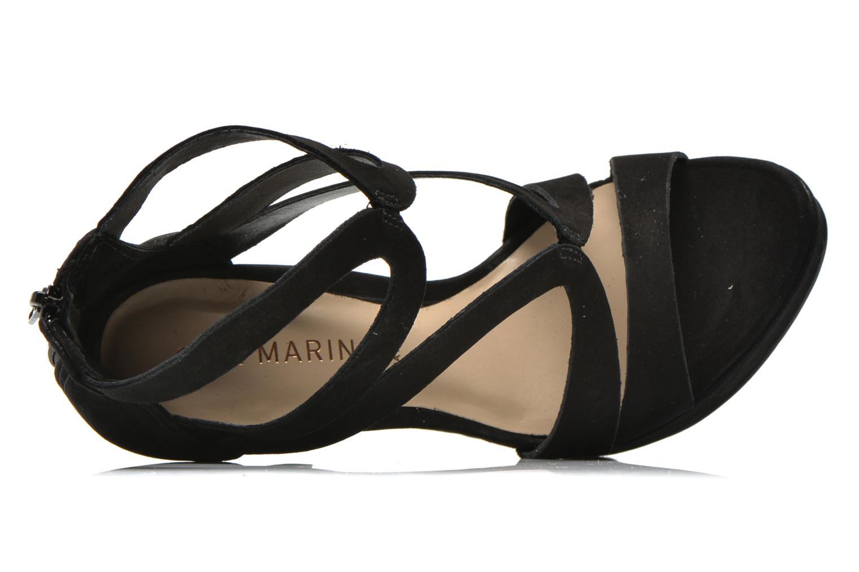 Sandales et nu-pieds San Marina Vacita/Nub Noir vue gauche