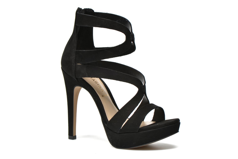 Sandales et nu-pieds San Marina Vacita/Nub Noir vue détail/paire