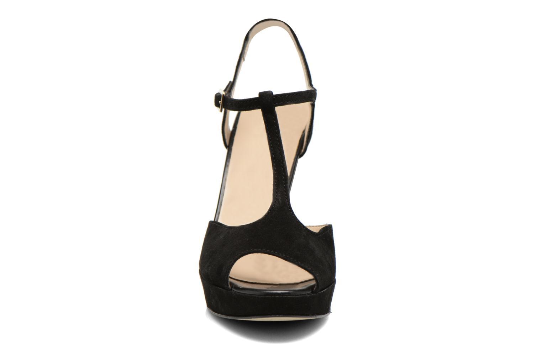 Sandales et nu-pieds San Marina Fontaine Noir vue portées chaussures