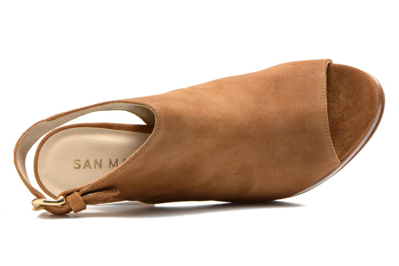Sandales et nu-pieds San Marina Medoa Marron vue gauche