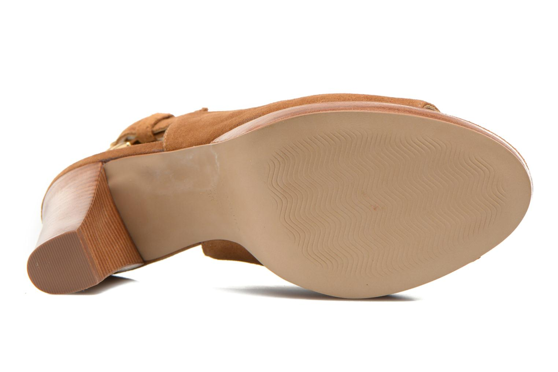 Sandali e scarpe aperte San Marina Medoa Marrone immagine dall'alto