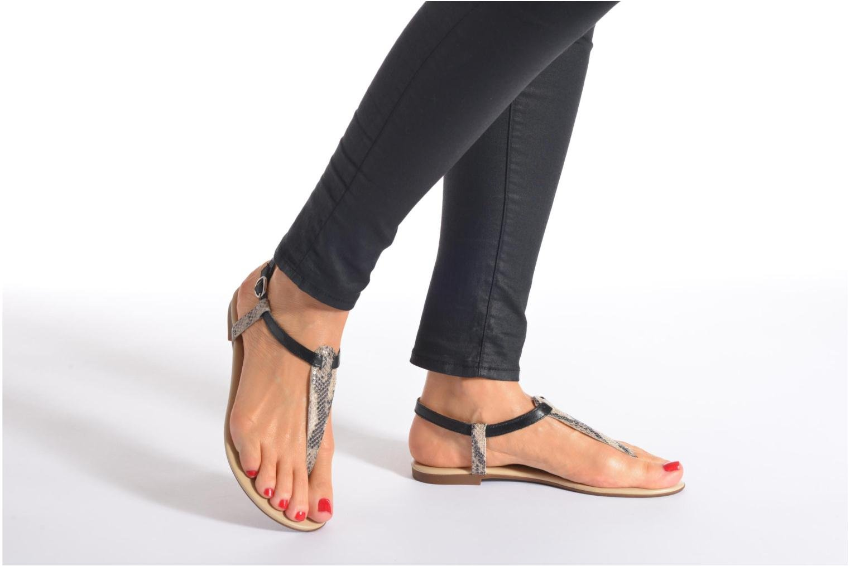 Sandales et nu-pieds San Marina Cosa/Serp Multicolore vue bas / vue portée sac