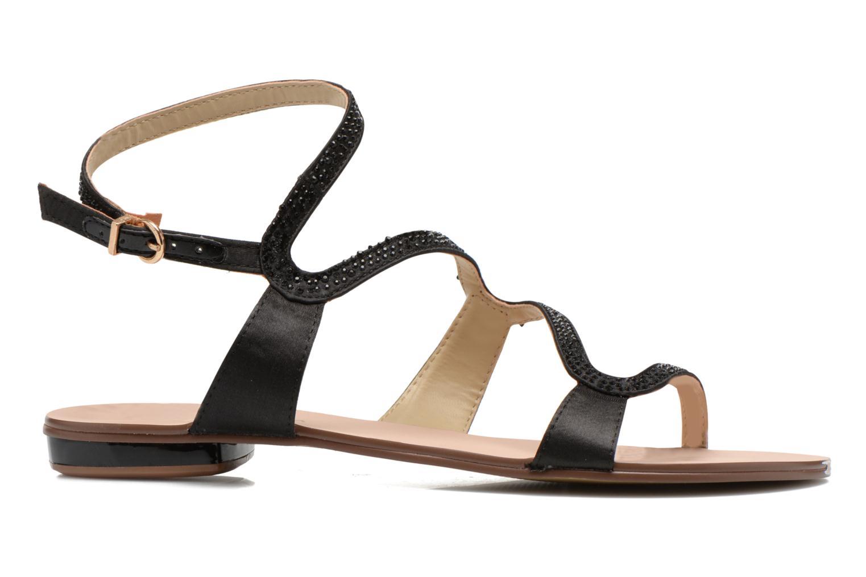 Sandales et nu-pieds San Marina Chapka Noir vue derrière