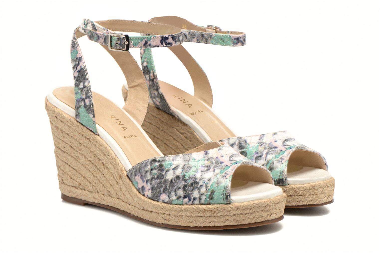 Sandales et nu-pieds San Marina Gidila/Serp Multicolore vue 3/4