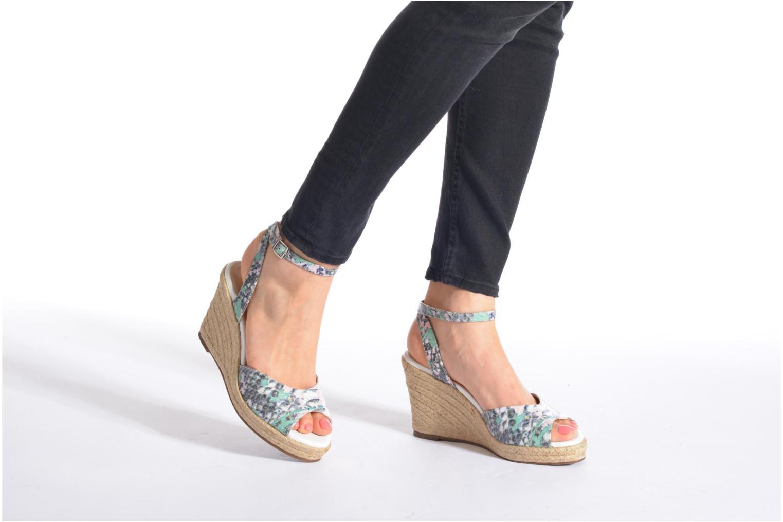 Sandales et nu-pieds San Marina Gidila/Serp Multicolore vue bas / vue portée sac