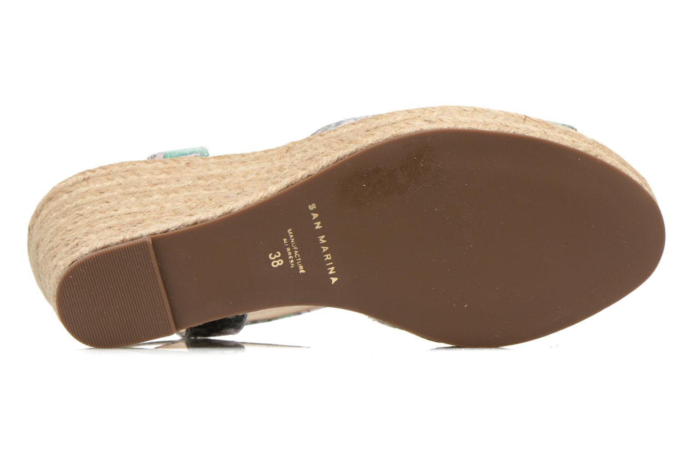 Sandales et nu-pieds San Marina Gidila/Serp Multicolore vue haut