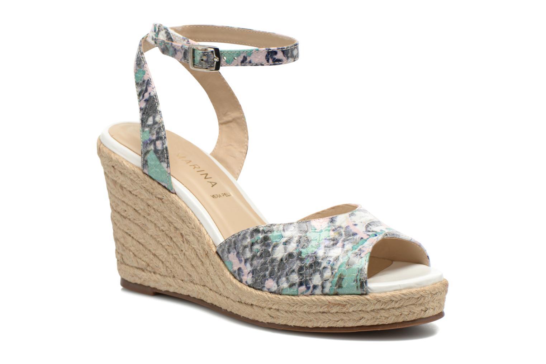 Sandales et nu-pieds San Marina Gidila/Serp Multicolore vue détail/paire