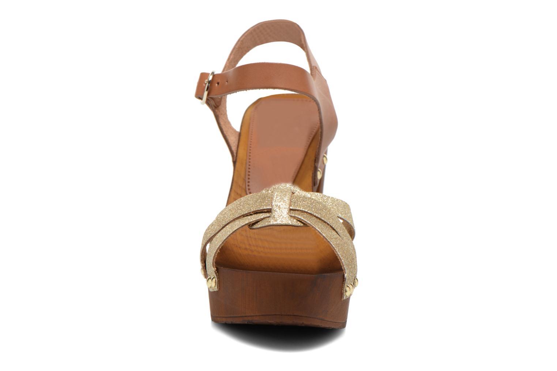 Sandals San Marina Debani/Glit Brown model view