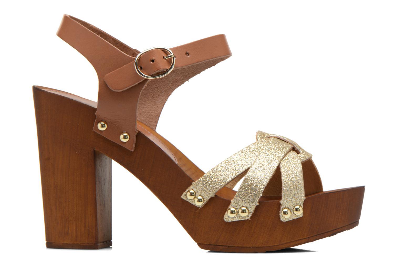 Sandals San Marina Debani/Glit Brown back view