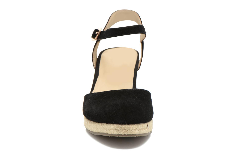 Sandales et nu-pieds San Marina Coquille Noir vue portées chaussures