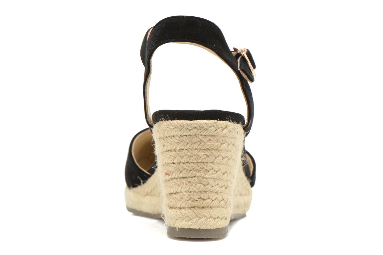 Sandales et nu-pieds San Marina Coquille Noir vue droite