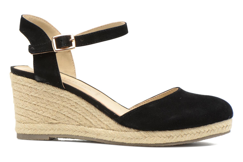 Sandales et nu-pieds San Marina Coquille Noir vue derrière