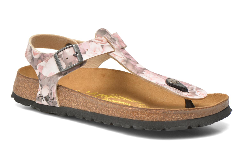 Sandals Papillio Kairo Pink detailed view/ Pair view