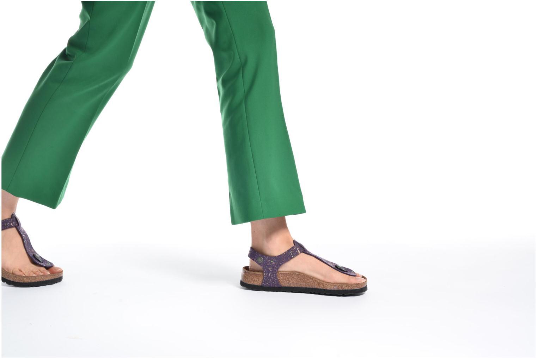 Sandales et nu-pieds Papillio Kairo Violet vue bas / vue portée sac