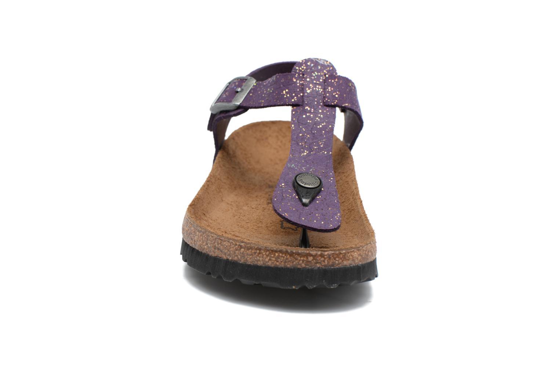 Sandales et nu-pieds Papillio Kairo Violet vue portées chaussures
