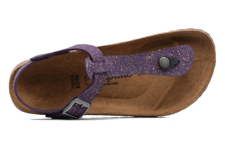 Sandales et nu-pieds Papillio Kairo Violet vue gauche