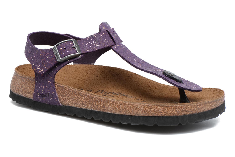 Sandales et nu-pieds Papillio Kairo Violet vue détail/paire