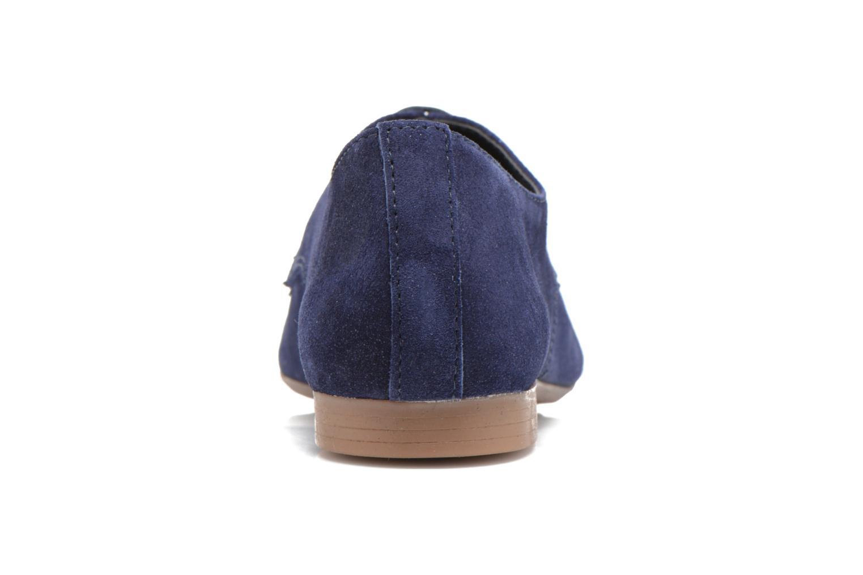 Chaussures à lacets André Fabuleux P Bleu vue droite