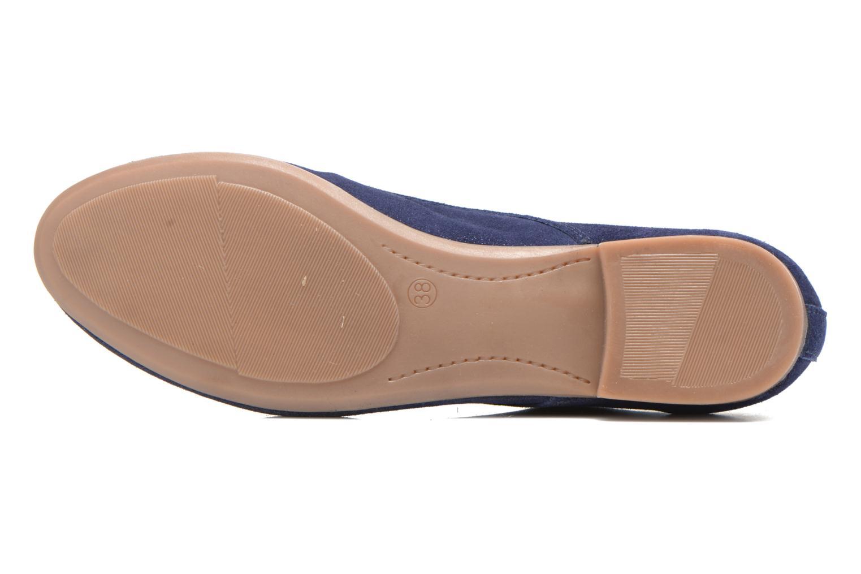 Chaussures à lacets André Fabuleux P Bleu vue haut