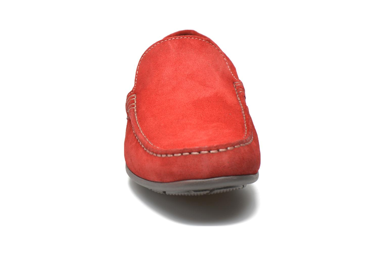 Loafers André Lorient 2 Röd bild av skorna på