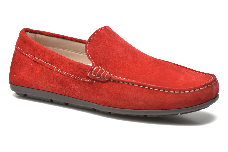 Loafers André Lorient 2 Röd detaljerad bild på paret