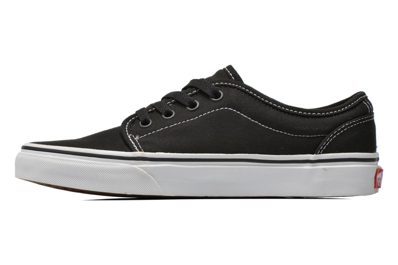 Sneaker Vans 106 Vulcanized E schwarz ansicht von vorne