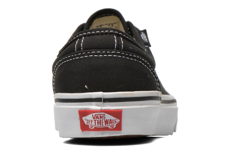 Baskets Vans 106 Vulcanized E Noir vue droite