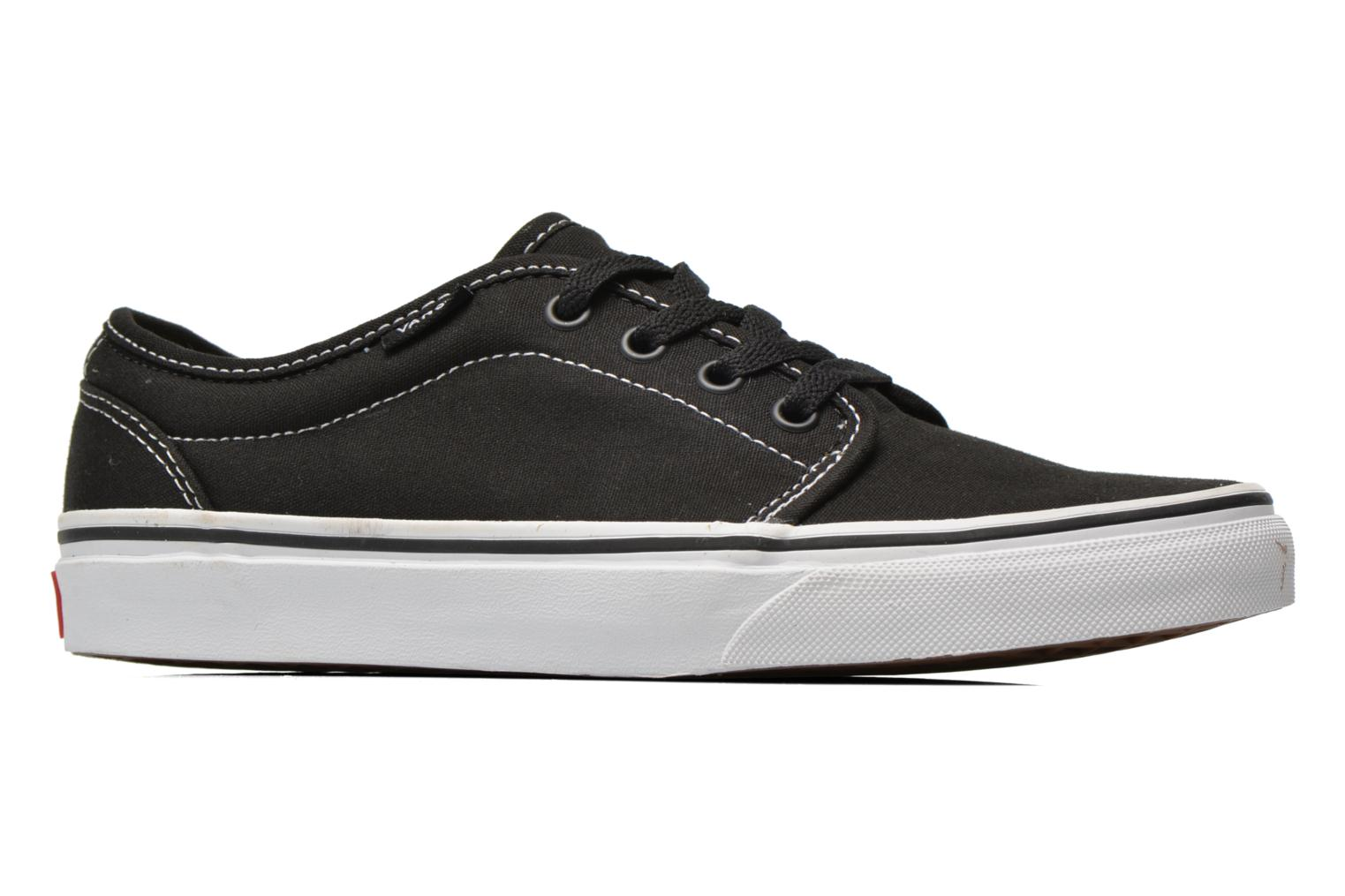 Trainers Vans 106 Vulcanized E Black back view