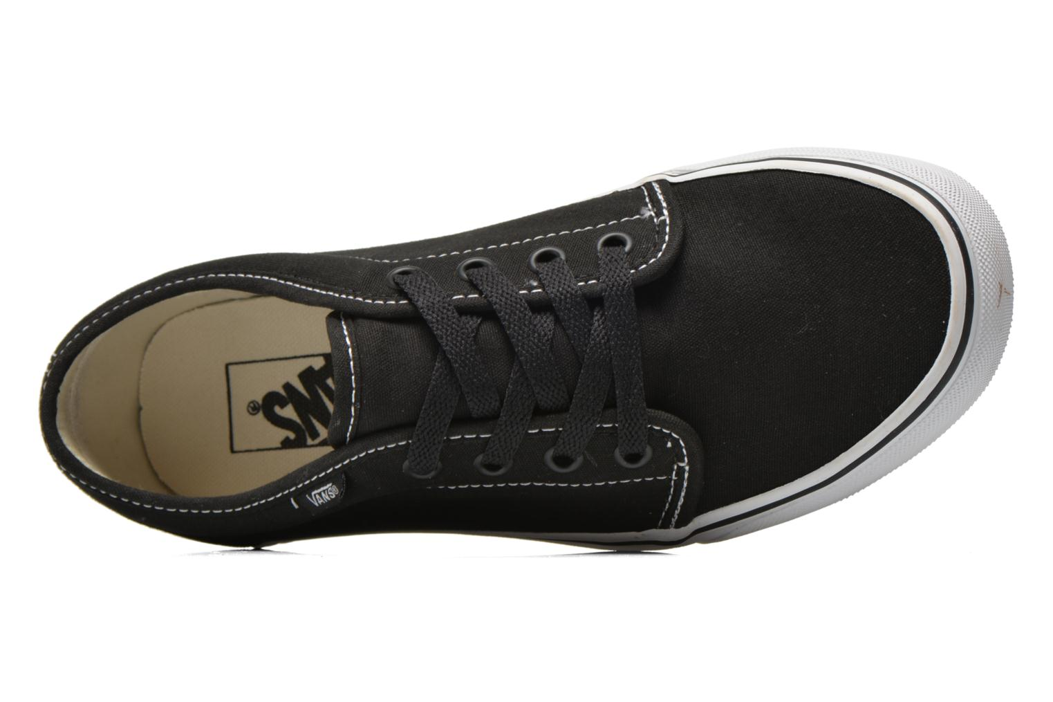 Trainers Vans 106 Vulcanized E Black view from the left