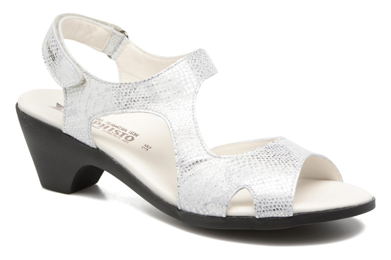 Sandales et nu-pieds Mephisto CINDY Argent vue détail/paire