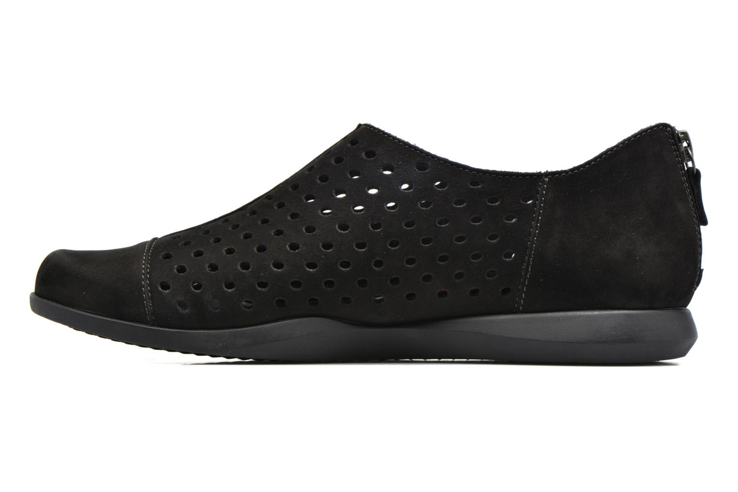 Loafers Mephisto CLEMENCE Black front view