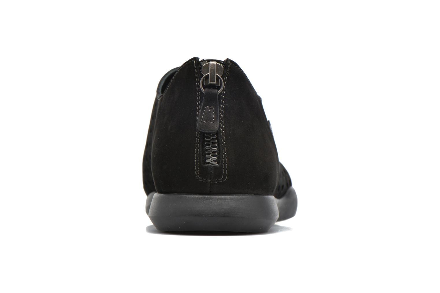 Loafers Mephisto CLEMENCE Black view from the right