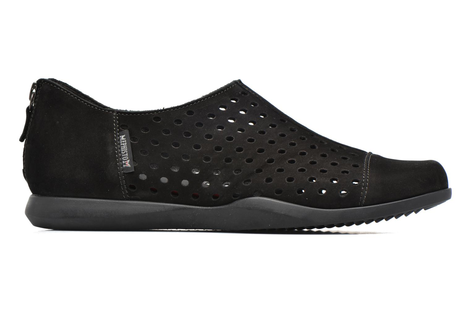 Loafers Mephisto CLEMENCE Black back view