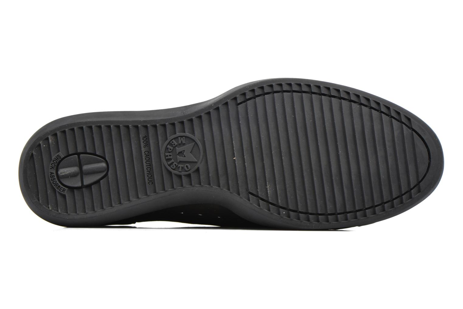 Loafers Mephisto CLEMENCE Black view from above