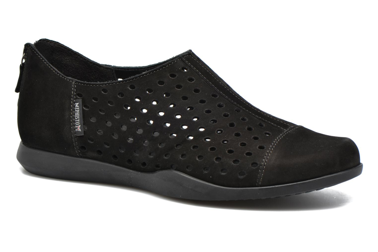 Loafers Mephisto CLEMENCE Black detailed view/ Pair view